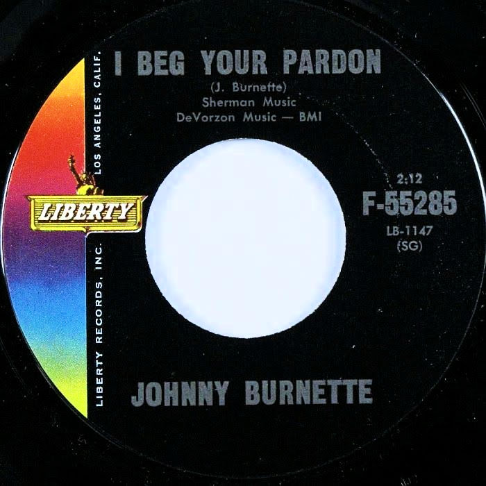Johnny Burnette - I Beg Your Pardon / Youre Sixteen